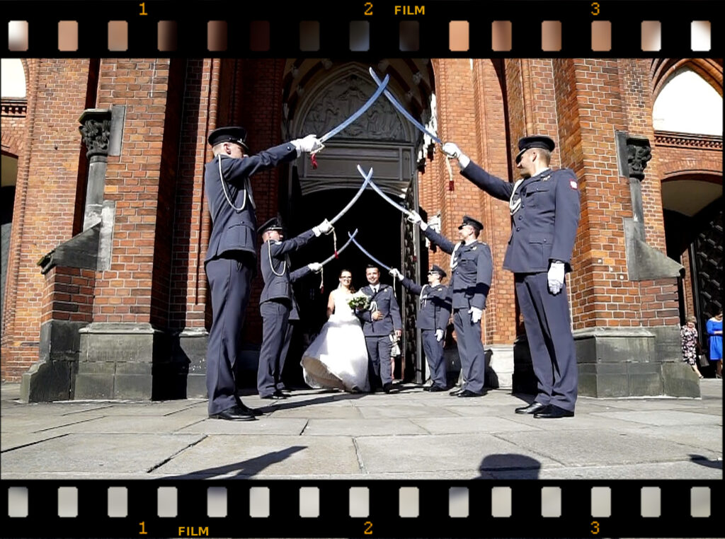 filmowanie wesel 4k dron